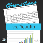 Science Corner: Observations and Results
