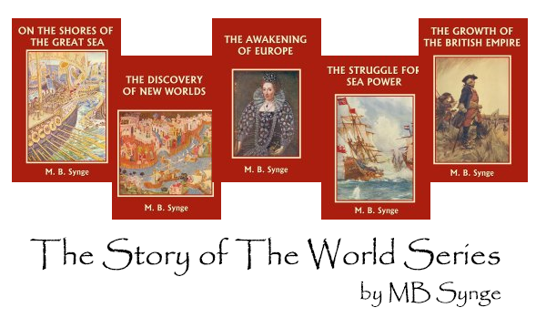 Synge's Story of the World series for logic stage history
