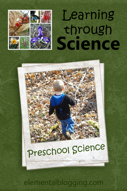Learning through Science - A preschool science unit to teach colors at Elemental Blogging