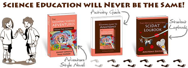 Product of the Month ~ The Sassafras Science Adventures Volume 2: Anatomy