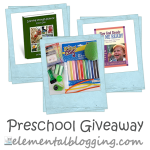 Preschool Materials Giveaway!!