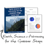 Earth Science and Astronomy for the Grammar Stage Updates