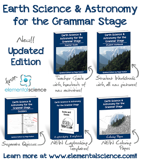 Earth Science & Astronomy for the Grammar Stage Updated Edition | Elemental Science