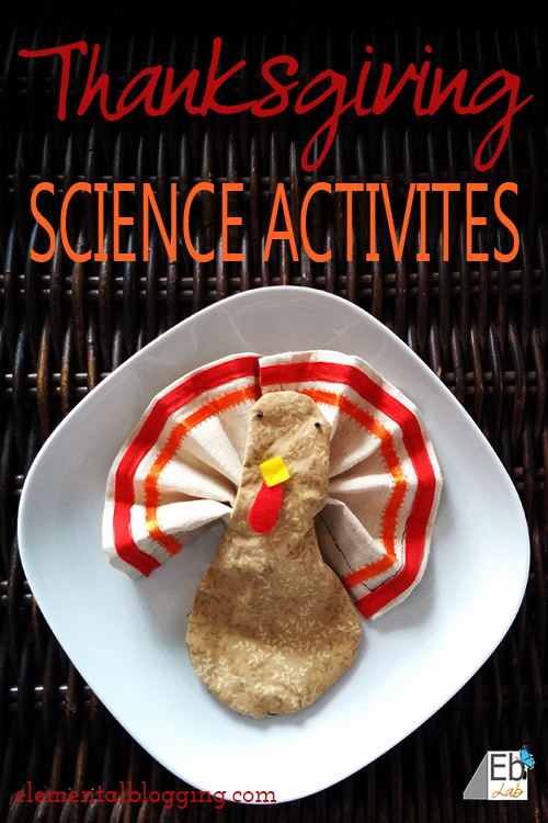 3 thanksgiving science activities from elemental blogging. Black Bedroom Furniture Sets. Home Design Ideas