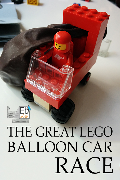 The Great Lego Balloon Car Race | Elemental Blogging