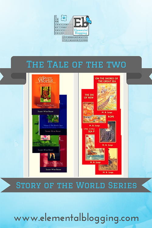 The Two Story of the World Series {with free plans for using both!} | Elemental Blogging