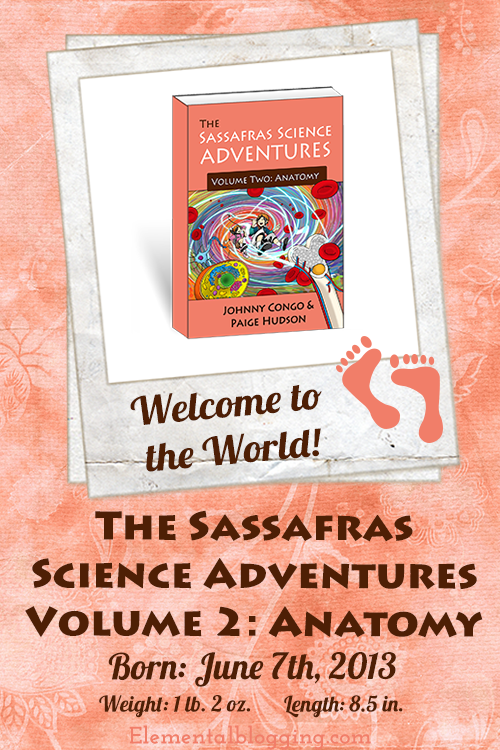 The journey continues for Blaine and Tracey Sassafras in The Sassafras Science Adventures Volume 2: Anatomy!