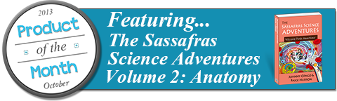 October's Product of the Month ~ The Sassafras Science Adventures Volume 2: Anatomy