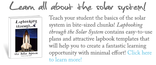 Lapbooking through the Solar System by Elemental Science