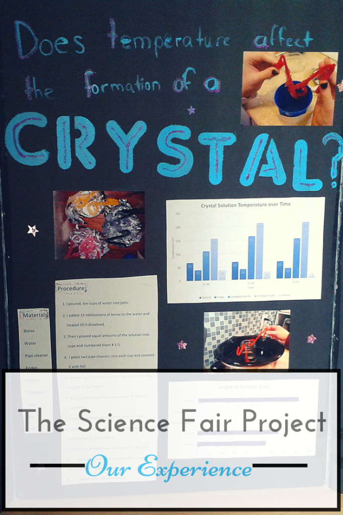 The Science Fair Project ~ Our Experience from Elemental Blogging