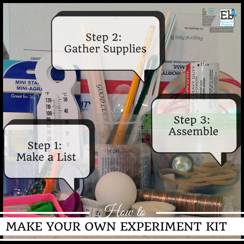 How to make your own experiment kit | Elemental Blogging