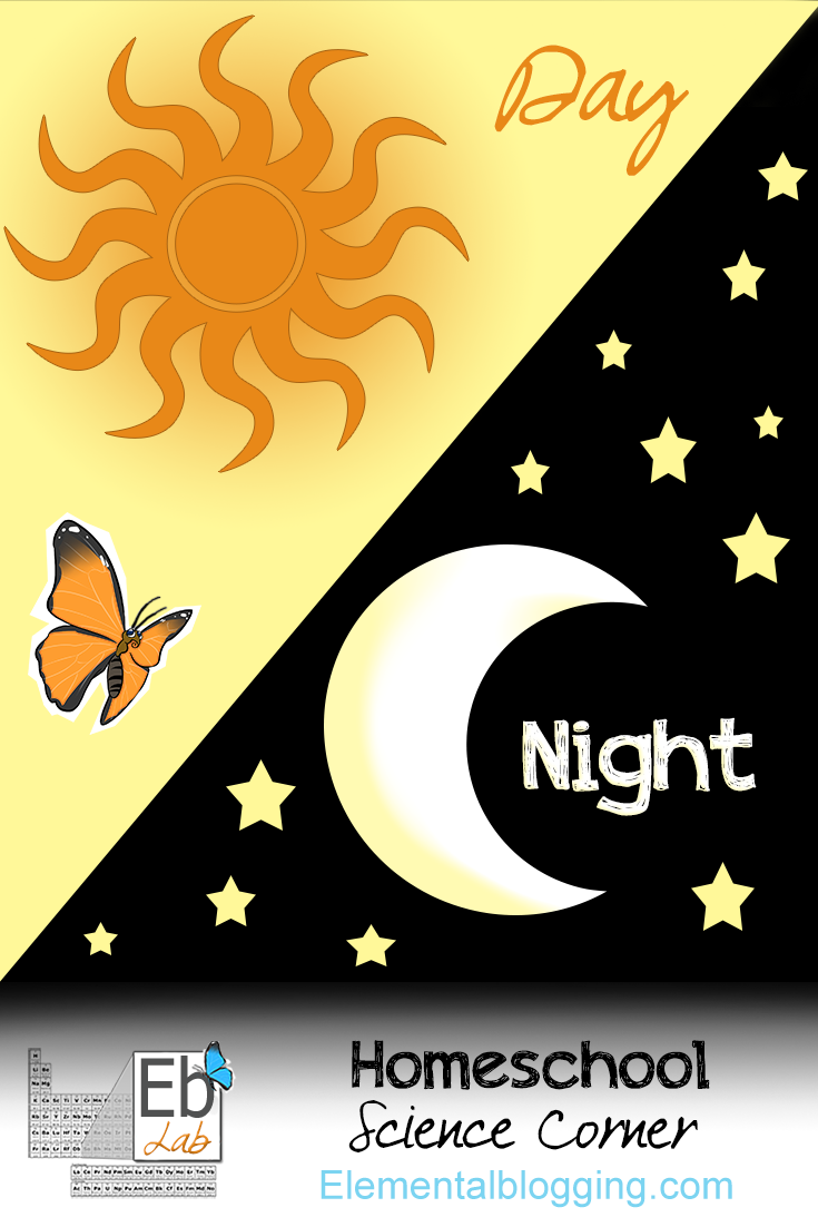 Day and Night {Including free printables} | Homeschool Science Corner