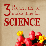 3 Reasons to make time for science