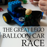 The Great Lego Balloon Car Race