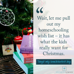 What's on your Christmas Wish list?